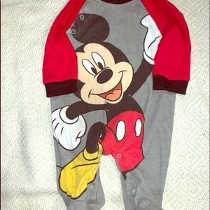 Mickey Mouse footie